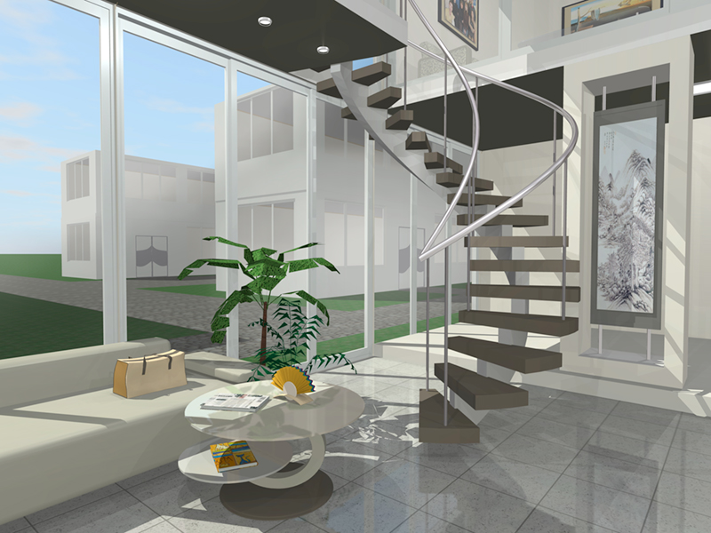 Interior for 3d programma interieur
