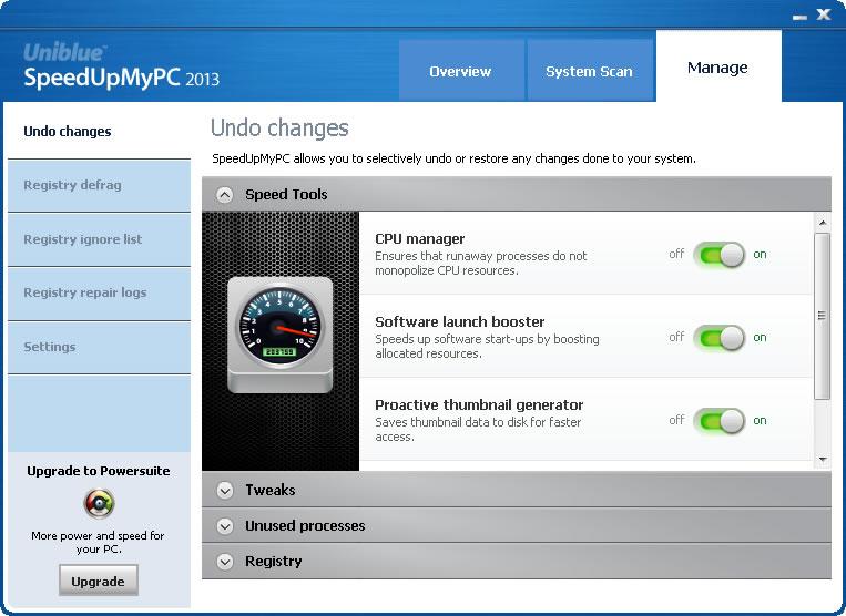 speedupmypc 2013 v5.3.3.0