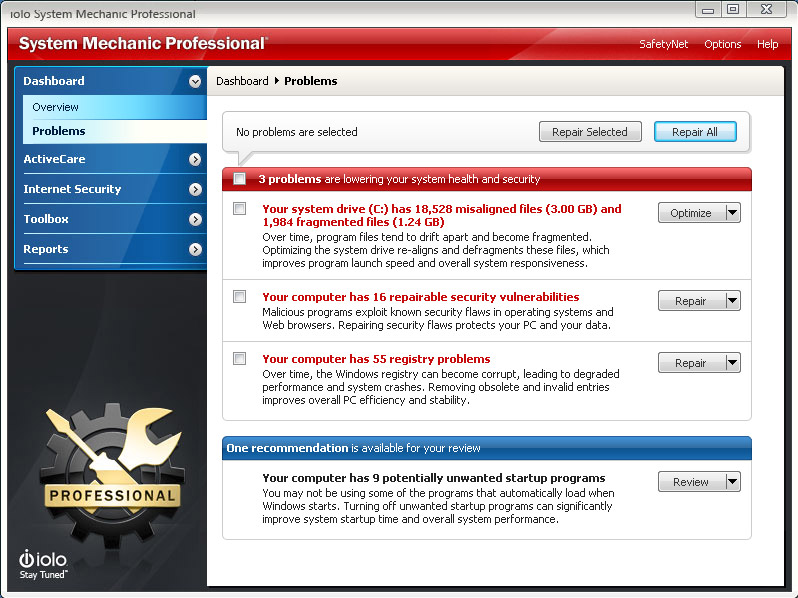 Iolo System Mechanic Professional 12 Download Buyer